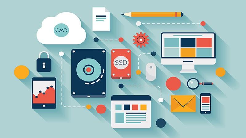 Illustration of organizational tools