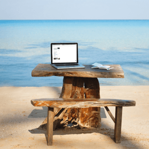 Photo of remote office